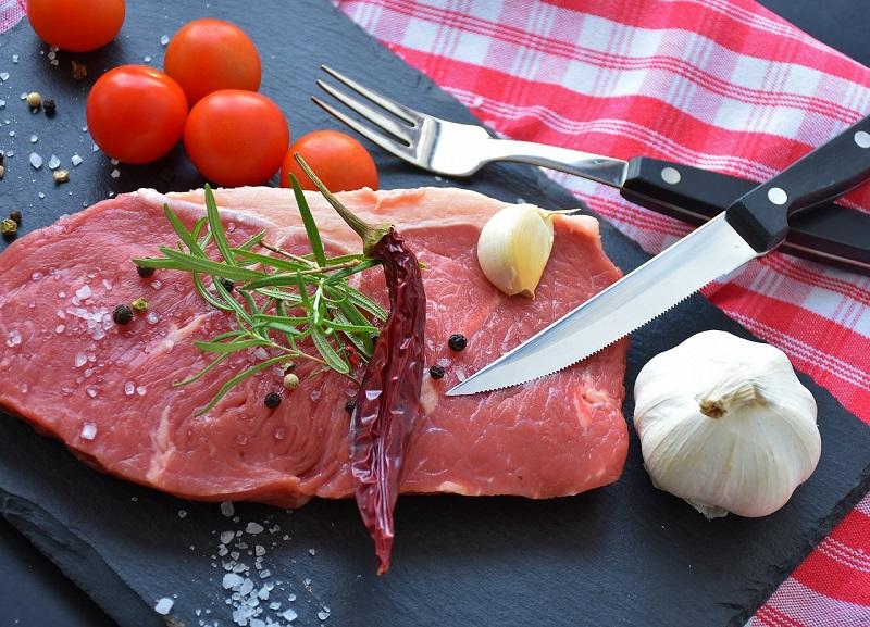 Sostanze fondamentali del come ingrassare: carne
